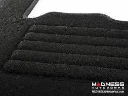 Black Auto Carpet by Smart Car Floor Mats Carpet With Black Binding 451 Model
