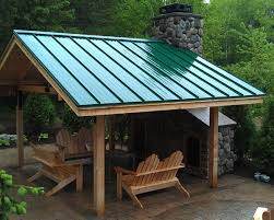 Metal Roof Patio Cover Designs Home Decor Ideas With