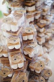 Rustic Wedding Roasted Marshmellows And Gowns May Not Sound Like A Match Made In