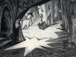 The Cabinet Of Doctor Caligari 1920 by The Testament Of Dr Mabuse Art Blart