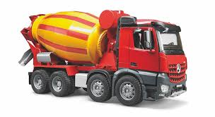 BR 1:16 MB Arocs Cement Mixer Truck 240 03654 - Bruder Toys