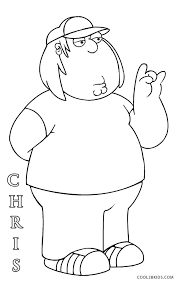 Family Guy Coloring Page