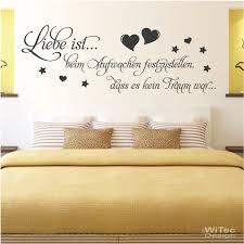wandtattoo wandaufkleber liebe ist schlafzimmer