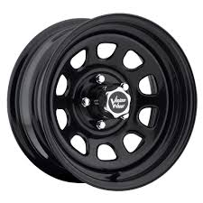 100 84 Chevy Truck Parts Details About 15 Vision D Window Black Wheel 15x10 6x55 39mm