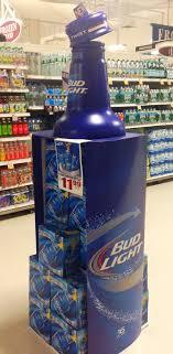 Bud Light Beer Animated Floor Display