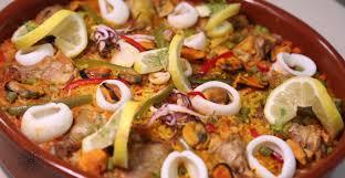 choumicha cuisine tv choumicha paella au poulet et aux légumes