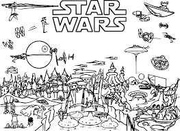 Gallery Of Star Wars Coloriages