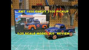100 Plastic Truck Model Kits AMT 125 1950 Chevy Pickup Kit AMT1076 Christmas Presents