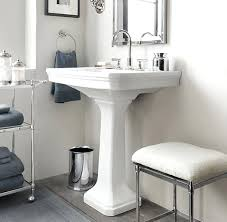 Pedestal Sinks For Small Bathrooms by Small Pedestal Bathroom Sink Sinks Small Sinks For Bathrooms Tiny