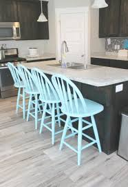 Tiffany Blue Kitchen Bar Stools