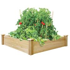 best raised garden bed size home outdoor decoration