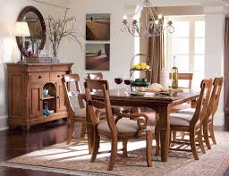 Wooden Dining Room Chairs Stylish With Candle Pendant Lamp Design Decor