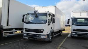 100 20 Ft Truck 07 DAF TRUCKS LF45160 Ft Box On REAR AIR SUSPENSION