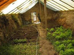 build a 300 underground greenhouse for year round gardening