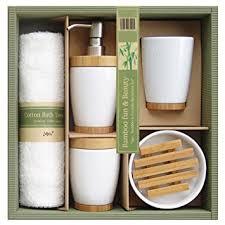فتاة حرفة حتى badezimmerm bel set bambus