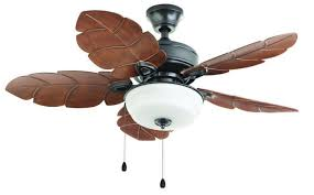 Ceiling Fan With Palm Leaf Blades by Ceiling Fans With Lights Tropical Leaf Fan Warisan Lighting