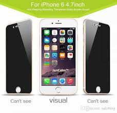 For Iphone 7 Privacy Tempered Glass Privacy Screen Protector For