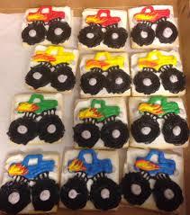 100 Monster Truck Cookies VARIETY COOKIES