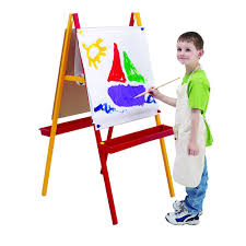 Toddler Art Desk Australia by Easels Officeworks