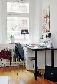 Home Office Designs: Neutral Modern Home Office Decor - Funky ... Office Inspiration Work Design Trendy Home Top 100 Modern Trends 2017 Small Ideas Smulating Designs That Will Boost Your Movation Modern Executive Home Office Suitable With High End Best 25 Offices With White Wall Painted Interior Color Mad Ikea Then Desk Chic Rectangle Floating Rental Aytsaidcom Remodel Your Unique Design Ideas