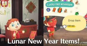 Items Where Year Is 2021 Lunar New Year Items Arrive Gift Bells To Villagers