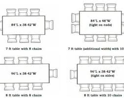 dining standard dining room table size wonderful dining tables