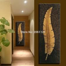 Excellent Decoration Large Vertical Wall Art Handmade Canvas Modern Living Room Aisle