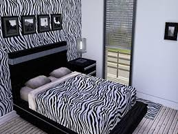 Cool Zebra Bedroom Ideas Unique Print Decorating