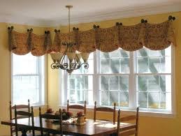 Valance Window Treatments Burlap Kitchen Curtains Best