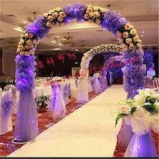 15 M Wide DIY Wedding Decoration Organza Material Colorful Rayon