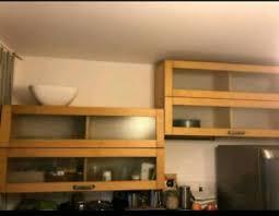 vitrinen hängeschrank ikea küche esszimmer ebay