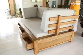canap bois et tissu photos canapé en bois exotique