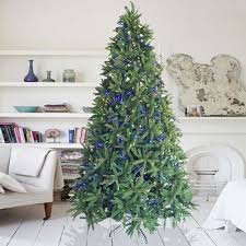 9 Foot Dunhill Fir Tree Christmas With 1000 LED Lights 3774 Tips Easy Assembly