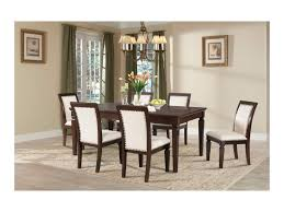 Upholstered Dining Chairs With Nailheads by Elements International Harwich Upholstered Chair Side With