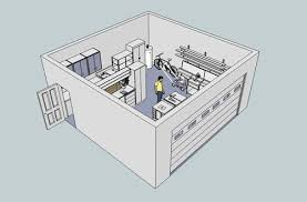 Figure 3 Provides A Look At The Garage Shop Wiring Where Electrician Cut Through Drywall To Run And Install Duplex Receptacles