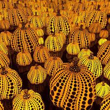 Yayoi Kusama Pumpkin by Yayoi Kusama Exhibition At The Victoria Miro Gallery