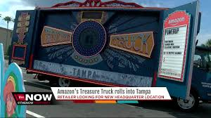 Amazon's New Treasure Truck Kicks Off Selling Super NES Classic In ... Med Heavy Trucks For Sale Daily Food Truck Locations In Tampa Bay Trucks American Simulator Cross Country Savannah To Youtube Ferman Chevrolet New Used Chevy Dealer Near Brandon 2016 Toyota Tundra Lift Custom Wheels At Stadium Food Truck Rally Aims For Guinness World Record Tbocom Western Star Tractors Semis Fire Trucks Responding Rescue 13 Mind Your Ears 2017 Car And Show Races Through The Cvention Freightliner M2 106 Warner Centers Driving School Cdl Traing Florida
