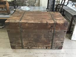100 Tool Chest For Truck Vintage Large Wooden Trunk Box Coffee Table Storage Rustic