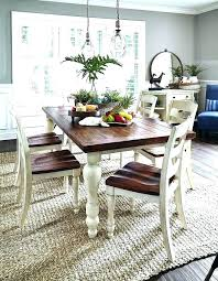 Distressed Farmhouse Dining Table Style