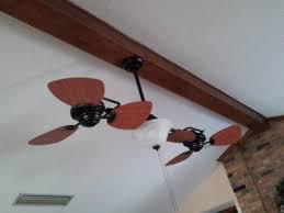 Harbor Breeze Dual Motor Ceiling Fan by Harbor Breeze 74 Twin Breeze Aged Bronze Dual Ceiling Fan With