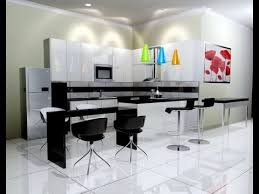 The Never Dull Looking Of Black And White Kitchen Decor