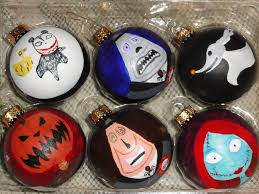 Nightmare Before Christmas Zero Halloween Decorations by Image Collection Nightmare Before Christmas Tree Ornaments All