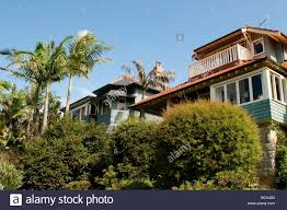 100 Mosman Houses In Bay Sydney NSW Australia Stock Photo