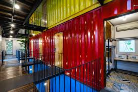 100 Steel Shipping Crates Eco Friendly Hotel Options 12 Places To Stay That Are Made