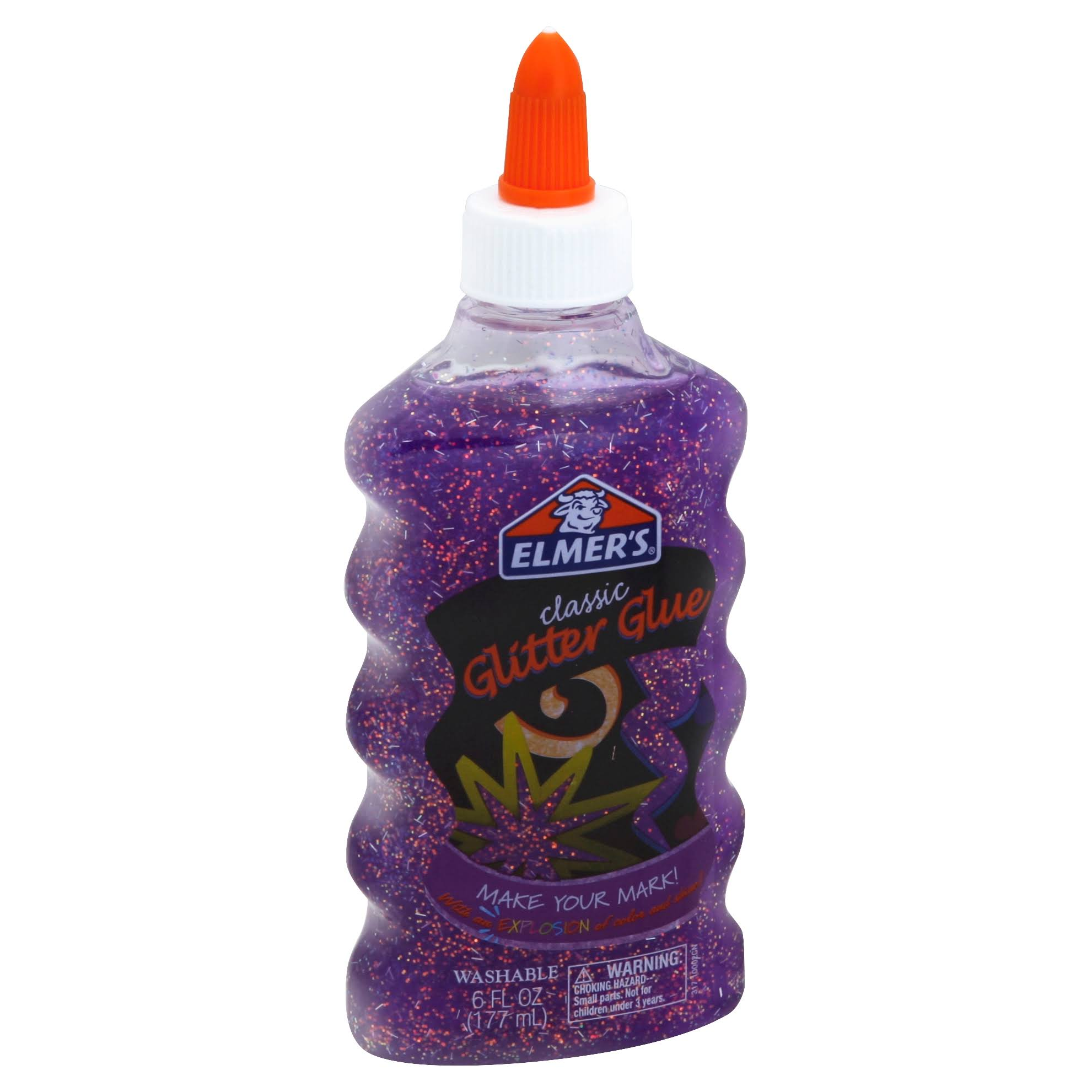 Elmer's Classic Glitter Glue - Purple, 6oz