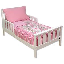 Tinkerbell Toddler Bedding by Pink Cotton Pillowcase And Flower Mixed Striped Pattern Bed Linen