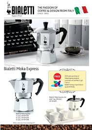 Italian Coffee Maker Brands Special Promotion Launching Of The Icon In Stovetop
