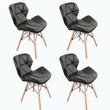 2x hyra esszimmerstuhl schwarz stuhl set esszimmer stühle