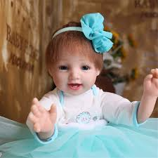 Cute Doll Clothes Dress Set Fit Reborn Clothing Newborn Baby Pajamas