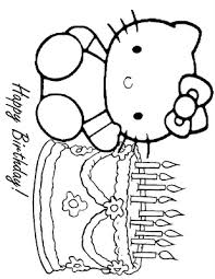 Awesome And Free Printable Coloring Birthday Cards Gianfreda Card